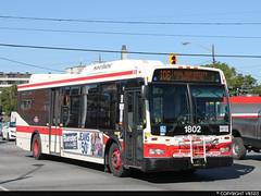 Toronto Transit Commission #1802 (vb5215's Transportation Gallery) Tags: toronto ttc transit orion ng commission 2009 vii hev