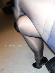 R0010833 (nylongrrl) Tags: black feet stockings garter shiny highheels arch shine style tights skirt glossy bracelet upskirt heels gloss heel satin stiletto cuban ph ankle pantyhose dangle nylon anklet fully ffs nylons garterbelt fashioned seams suspender collant 6inch platino ffn satindeluxe archsatin