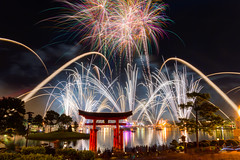 Epcot - Light It Up (SpreadTheMagic) Tags: japan epcot unitedstates florida fireworks illuminations disney wdw finale baylake