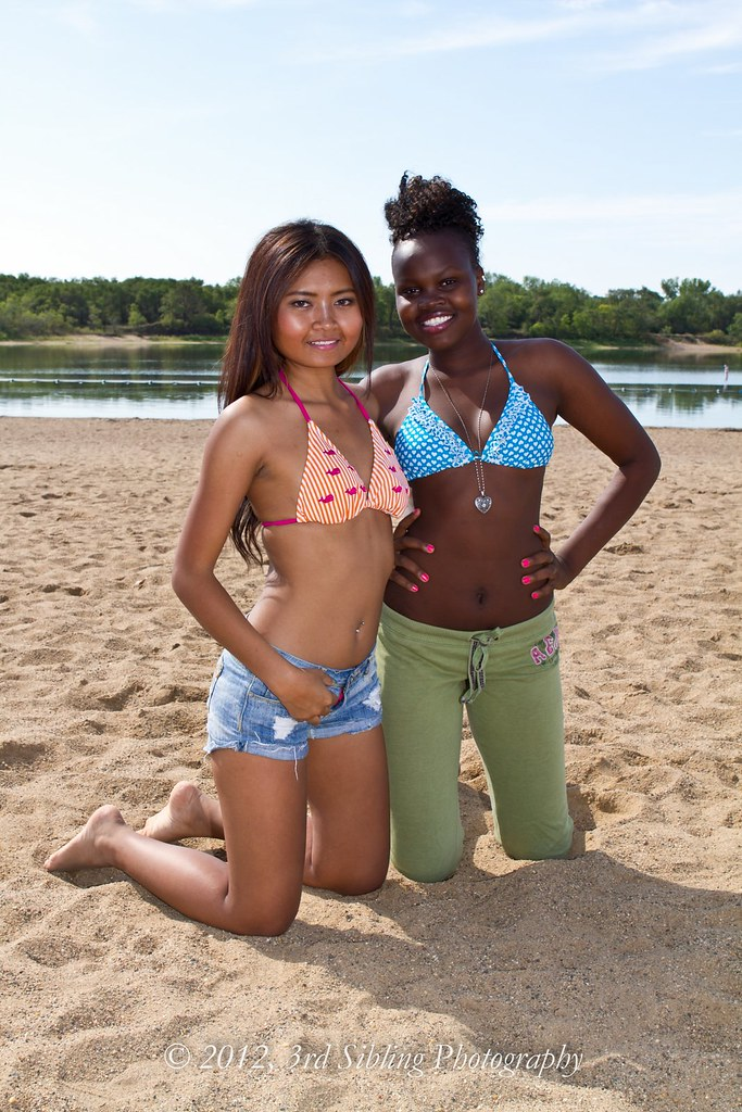 open crotch string bikini