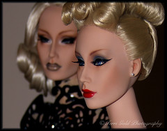 Domina and Neurotica (Terri-NY) Tags: geometry wig domina talc neurotica sybarite superdoll