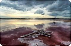 La Crucificción (Legi.) Tags: sunset clouds atardecer nikon cross cloudy salinas cruz nubes nublado torrevieja d5100