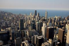 Chicago '12 (R24KBerg Photos) Tags: city urban chicago skyline canon buildings illinois cityscape skyscrapers searstower 2012 johnhancockcenter trumpinternationalhotel