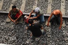 Migrantes (Mittchel Alcantara) Tags: mexico historia migrantes labestia lapatrona