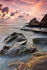 Summer End II ( Azkorri ) (saki_axat) Tags: sunset azkorri canonikos
