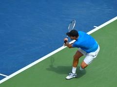 Berdych Backhand 4 (jegordon) Tags: new york city arthur us open stadium tennis mens 2012 ashe flushing semifinals
