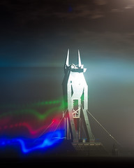 Burning Man 2012 - Anubis (extramatic) Tags: usa nv blackrockcity burningman2012fertilityblackrockcityblackrockdesert burningman2012fertilityblackrockcityblackrockdesertfireartplayaflameburnmanbrceventbm12desertburningmanfestivalextramaticzzz