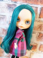 Quin the pretty green girl xx