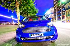 Aston Martin Cygnet (Jeroenolthof.nl) Tags: blue red photography jeroen photographer martin geneva geneve cygnet automotive toyota wilson iq supercar aston genf olthof wwwjeroenolthofnl jeroenolthofnl