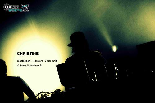 CHRISTINE @ Rockstore - Montpellier - 3LOGO