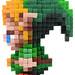 Pixel Art 3D Fimo 02