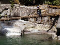 Log Rider (Dru!) Tags: canada pool log riding mission wetsuit stemalot suicidecreek bcbritishcolumbia aucheval norrishcreek norrish12