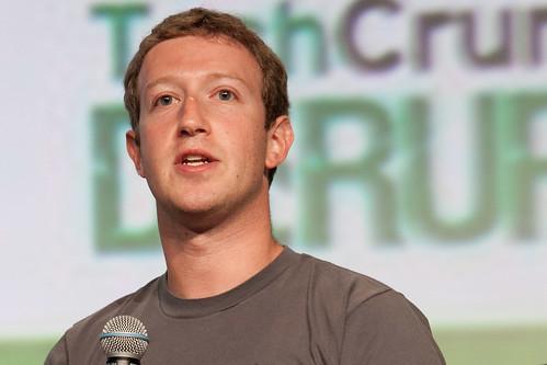 From flickr.com: Mark Zuckerberg {MID-278140}