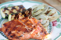 grilled salmon (wingerz) Tags: food salmon grill