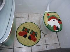 Jogo de Banheiro de Papai Noel (Monne Arts) Tags: natal de bonito artesanato capa noel lindo kit festa decorao jogo banheiro lavabo mamae papai tecido colorido algodo enfeite proteo festivo natalino