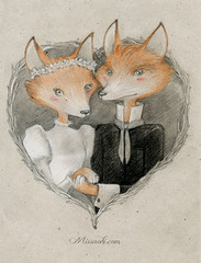"""The Foxes Get Married"" (Miss Ao"