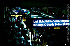 "Link Light Rail & Bus Bays. Seattle, WA, USA • <a style=""font-size:0.8em;"" href=""http://www.flickr.com/photos/35947960@N00/8000417221/"" target=""_blank"">View on Flickr</a>"