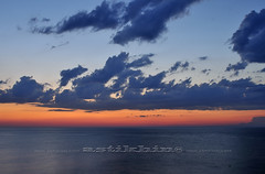 Atlantic Ocean (astikhin) Tags: ocean travel blue light sunset shadow red sky orange cloud nature weather horizontal clouds landscape outside outdoors evening twilight warm peace shadows exterior cloudy outdoor dusk horizon rustic gray tranquility nobody serenity theme serene produce concept ideal inspirational setting idyllic atlanticocean tranquil placid evenings ending settings themes concepts exteriors positiveconcepts wideopenspaces exteriorspace conceptidea timeday conceptsideas exteriorspaces broadcategories broadcategory positiveconcept settingtimeseason titlemagnificentlandscapestemperature