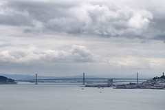 San Francisco  Oakland Bay Bridge. (Alexandra Rudge. Thanks for 257.000 + visits!) Tags: sanfrancisco california city bridge sky cloud water fog clouds sailboat canon boats puente oakland bay agua foggy bridges ciudad alexandra cielo bahia baybridge puentes sanfranciscobay nublado niebla sanfranciscocalifornia oaklandbridge foggyday embarcaciones oaklandbaybridge sanfranciscobridge embarcacion rudge cantileverbridge dianublado californiasanfrancisco californiabridge doubledeckedsuspensionbridge bahiadesanfrancisco sanfranciscooaklandbaybridge puentedesanfrancisco flickrstruereflection1 alexandrarudge charleshpurcellbridge puentedecaliifornia puentesanfranciscooakland sanfranciscooaklandbaybridgeview puentedeoakland ciudaddesanfranciscocalifornia cityofsanfranciscocalifornia