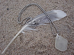 Havsglas Sverige 018 (Havsglas Sverige) Tags: recycle seaglass halsband smycken upcycle strandglas havsglas