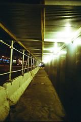 New York - street at night