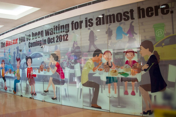 Dimsum Break in SM North Edsa is opening in October 2012
