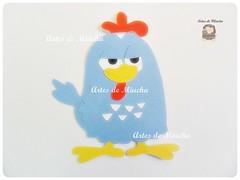 Aplique - galinha pintadinha (Artes de Miucha com papel) Tags: baby paper galinha album craft infantil bebe papel scrap desenho recorte aplique lembrancinha galinhapintadinha