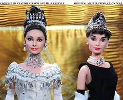 After and Before (ncruzdolls) Tags: audreyhepburn customizeddoll dollart myfairlady ooakdoll dollphotography elizadoolittle ooakrepaint dollartist matteldoll celebritydoll dollrepaint custombarbie customizedbarbie audreyhepburndoll noelcruz noelcruzrepaint mattelcelebritydoll noelcruzdoll noelcruzart ooakdollrepaint dollrepaintartist noelcruzcelebritydoll myfairladydoll elizadoolittledoll