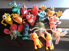 Vintage Ugly Jigglers Rubber Uglies Monsters (gregg_koenig) Tags: vintage puppet finger rubber ugly oily monsters uglies jigglers