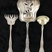 "Lot 2003.  Three Gorham ""Marguerite"" Sterling Servers"