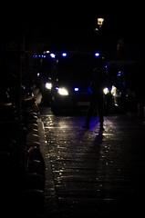 Calle-colindante 25-S (Van Haster) Tags: madrid blue españa night noche spain nikon police septiembre 25 neptuno congreso riots policia abuse policial abuso carga disturbios 25s arresto rodea d7000