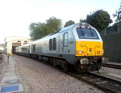 67012 (R~P~M) Tags: uk greatbritain england london train diesel unitedkingdom railway depot locomotive 67 wembley chilternrailways dbarriva