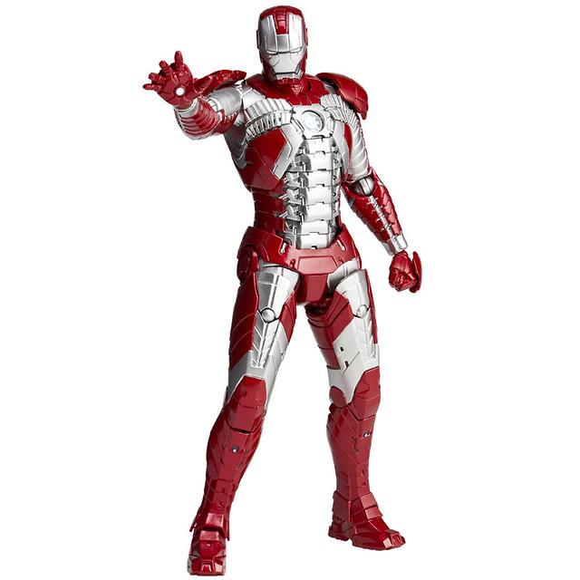 海洋堂輪轉可動鋼鐵人 REVOLTECH IRON MAN  MK-V