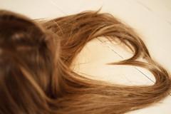 Heart of hair (xibalbax) Tags: canon hair 50mm floor heart 7d canonef50mmf18ii canoneos7d
