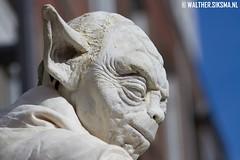 WS20120930_9987 (Walther Siksma) Tags: world people white holland festival yoda arnhem statues humanstatues wit 2012 gelderland levendstandbeeld worldstatues levendestandbeelden worldstatuesfestival walthersiksma