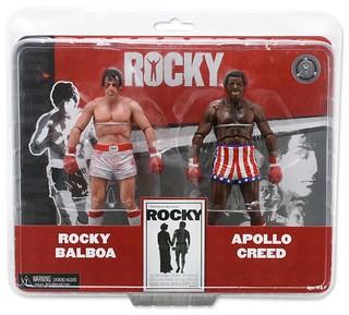 NECA - 玩具反斗城限定「Rocky vs. Apollo」雙人包