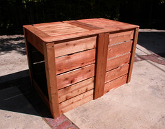 "2-Bin Montessori Compost Bin - closed • <a style=""font-size:0.8em;"" href=""https://www.flickr.com/photos/87478652@N08/8048002056/"" target=""_blank"">View on Flickr</a>"