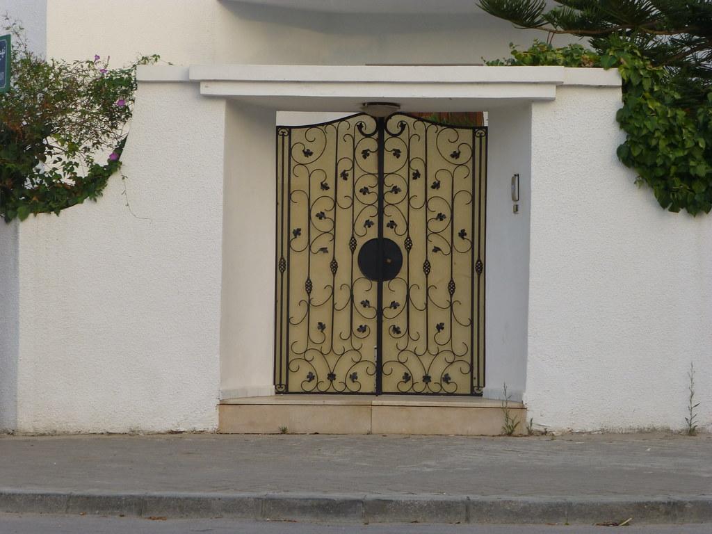 Porte fer forg exterieur fashion designs for Porte fer forge en tunisie