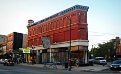 1464 North Milwaukee Avenue (Cragin Spring) Tags: urban wickerpark chicago building corner illinois midwest chitown il oldbuilding chicagoillinois chicagoil windycity milwaukeeave