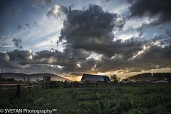 SIBERIAN SUNSET (RUSSIANTEXAN) Tags: sunset sky mountains clouds rural nikon russia siberia dynamicrange 2012 russiantexan krasnoyarsk russiantrip anvarkhodzhaev svetanphotography d800e
