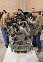 Ford Engine (abysal_guardian) Tags: auto show ford philadelphia engine tokina pro philly feb f28 116 2012 dx atx 1116mm