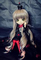 Pam [Prupate] (Dekki) Tags: fashion dark asian outfit doll pretty eyelashes queen planning pam wig groove pullip lunatic angelic jun junplanning rewigged rechipped prupate