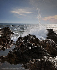 ::Excited:: (Zawawi Isa) Tags: seascape landscape exposure malaysia terengganu waterscape sigma1020mm nikond90