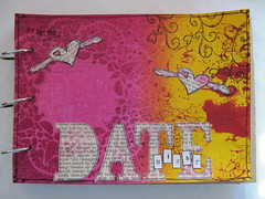 Art Journal Page: Date Night (assicrafts) Tags: artjournal stampotique