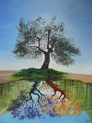 Matrimonio -olio su tela- cm 50x60 -2012  300