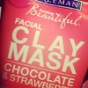 Freeman clay mask. I just used this and it made my skin so  soft and it smells awesome :) #claymask #freeman #chocolate #strawberry #beauty