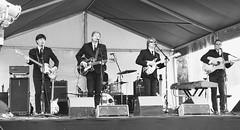 Beginning of an era. Beatles Tribute Band. (txdragonfly11) Tags: music texas sony band beatles richardson odc aharddaysnight challengeyouwinner cottonwoodartsfestival ourdailychallenge slta55v odc3