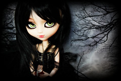Kyknos (Konato) Tags: black green dark eyes wig pullip custo helter skelter dashka ririko kyknos konato pullipririko