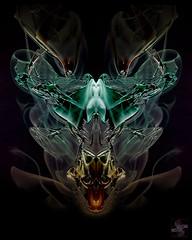 Figurehead (Smoke Art #588) (Psycho_Babble) Tags: abstract smoke incense smokeart smokephotography smokephoto smokemanipulation creativesmoke