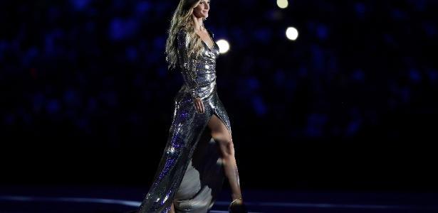 """Gisele diz que participação na abertura da Olimpíada foi """"emocionante"""""""